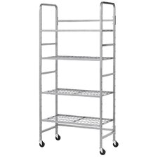 "75.75"" Mobile Storage Rack"