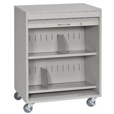 Locking HIPPA Medical Cart