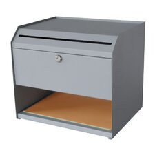 Suggestion Box with Paper Storage