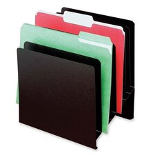 "<strong>Buddy Products</strong> Slant File Organizer,8-Pockets,9-7/8""x7-7/8""x11"",Black"