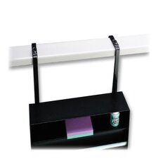 "Standard Stationery Rack, 11-3/8""x21""x3-1/4"", Black"
