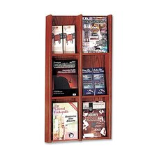 <strong>Buddy Products</strong> CAN BE DELETED - 6 Pocket Literature Rack