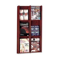6 Pocket Literature Rack