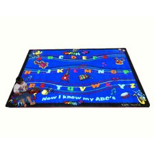 ABC Musical Song Kids Rug