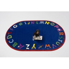 Alphabet with Attitude Kids Rug