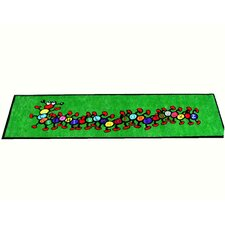 Caterpillar Green Kids Rug