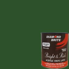 Bright and Rich Deep Green Latex Paint