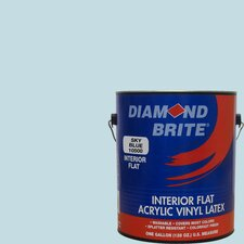 1 Gal. Flat Sky Blue Latex Paint