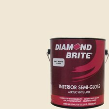 <strong>Diamond Brite</strong> Off White Latex Paint Semi Gloss