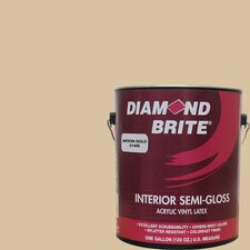 1 Gal. Moon Gold Latex Paint Semi Gloss