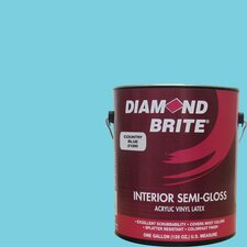 1 Gal. Country Blue Latex Paint Semi Gloss