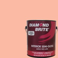 1 Gal. Peach Blossom Latex Paint Semi Gloss