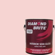 1 Gal. Light Pink Latex Paint Semi Gloss
