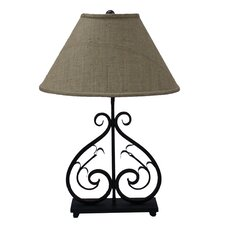 <strong>AHS Lighting</strong> Deux Scrolls Table Lamp