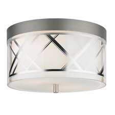 Renata 2 Light Flush Mount