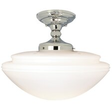 Monroe 1 Light Semi Flush Mount
