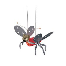 Dragonfly 1 Light Monorail Lady Bugs Functional Art Head