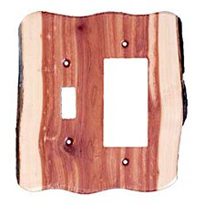 <strong>Sierra Lifestyles</strong> Rustic Toggle / Decora Unfinished Switch Plate