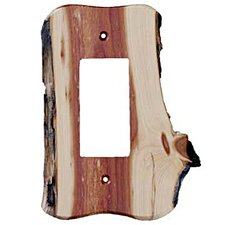 <strong>Sierra Lifestyles</strong> Rustic 1 Decora Unfinished Switch Plate