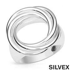 <strong>Vivid Gemz</strong> Silvex 925 Sterling Silver Fancy Cut Crystal Ring