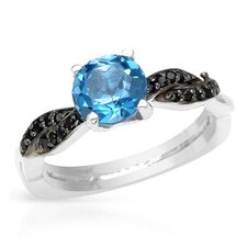 <strong>Vivid Gemz</strong> 925 Sterling Silver Tanzanite Ring