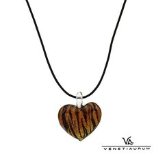 <strong>Vivid Gemz</strong> Venetiaurum Synthetic Leather Necklace