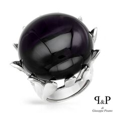 <strong>Vivid Gemz</strong> P and P Silver 925 Sterling Silver Ring