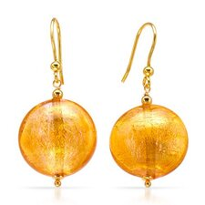 Venetiaurum Round Cut Drop Earring
