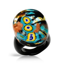 <strong>Vivid Gemz</strong> 24k Murano Glass Ring