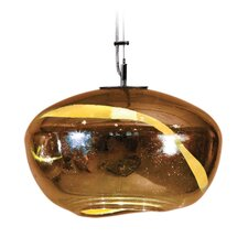 <strong>Tempo Luxury Home Collection</strong> Vista Swirl Galaxy 1 Light Pendant
