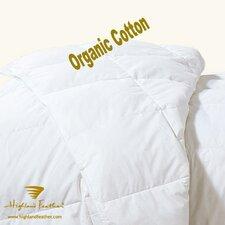 Esbjerg 233TC Organic Cotton 700 Loft  European Down Duvet Comforter Summer Fill