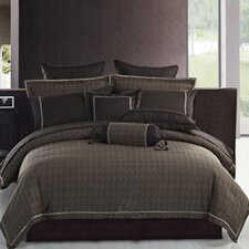 <strong>Highland Feather</strong> Modern Waves Jacquard Duvet Cover Collection