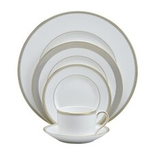 Golden Grosgrain Dinnerware Set