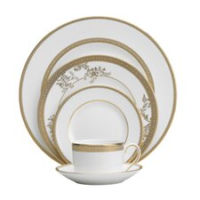Vera Lace Gold Dinnerware Set