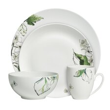 Floral Leaf Dinnerware Collection