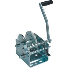 Two Speed Trailer Winches with Strap and Hook