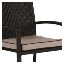 Brisbane Stacking Dining Arm Chair Cushion