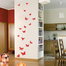 <strong>The Binary Box</strong> Summer Butterflies Wall Stickers