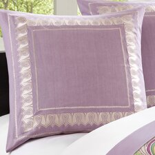 Vineyard Paisley European Sham