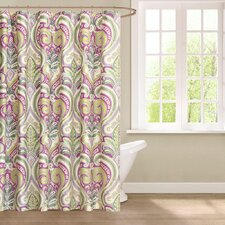 Vineyard Cotton Shower Curtain