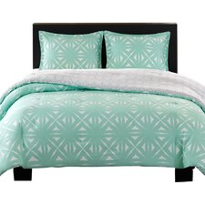 Cottege Reversible Comforter Set