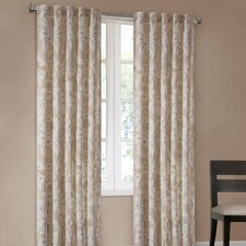 Positano Cotton Grommet Curtain Single Panel