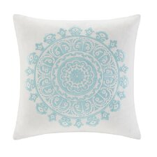 <strong>echo design</strong> Paros Cotton Faux Linen Square Pillow