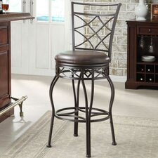"24"" Adjustable Swivel Bar Stool"