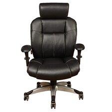 Sealy Posturepedic™ Indep Arm High Back Chair Black