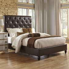 Sleigh Upholstered Bed