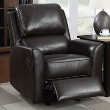 <strong>PRI</strong> Leather Rocker Recliner