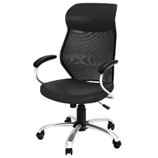 High-Back Mesh Task Chair with Arms