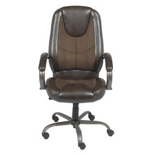 <strong>Z-Line Designs</strong> Mid-Back Leather Managerial Chair