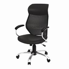 Manager Mesh and Leather Care Chair